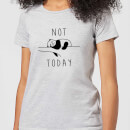 T-Shirt Femme Not Today - Gris