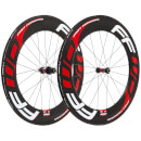 Fast Forward F9R DT180c Carbon Clincher Wheelset - Black/Red - Shimano