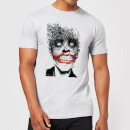 DC Comics Batman Joker Face Of Bats T-Shirt - Grey