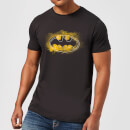 T-Shirt Homme Batman DC Comics Logo Graffiti - Noir