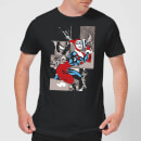 DC Comics Batman Harley Quinn Posing T-Shirt - Black
