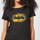 DC Comics Batman Spray Logo Women's T-Shirt - Black