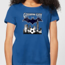 DC Comics Batman Football Gotham City Women's T-Shirt - Royal Blue
