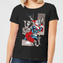 DC Comics Batman Harley Quinn Posing Women's T-Shirt - Black