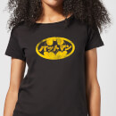 DC Comics Batman Japanese Logo Women's T-Shirt - Black