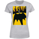 T-Shirt Femme Batman DC Comics - Bat Shadow - Gris