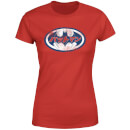 DC Comics Batman Japanese Logo Women's T-Shirt - Red