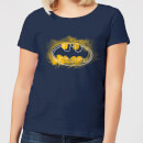 DC Comics Batman Spray Logo Women's T-Shirt - Navy