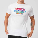 Ready Player One Rainbow Logo T-Shirt - White