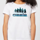 T-Shirt Femme Ready Player One Welcome To The Oasis - Blanc