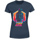T-Shirt Femme Ready Player One Gunter Life - Bleu Marine