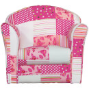 Kidsaw Mini Armchair Pink Patchwork