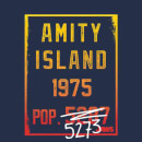 Jaws Amity Population T-Shirt - Navy