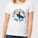 Jaws Amity Surf Shop Dames T-shirt - Wit