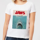 Jaws Classic Poster Women's T-Shirt - White