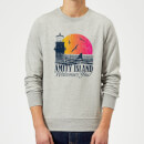 Jaws Welcome To Amity Island Sweatshirt - Grey