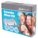 AV: Link Karaoke Mixer Kit with 2 Microphones - Black