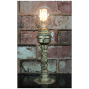 Lyyt Retro Industrial Table Lamp with Screw Base - Gold