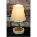 Lyyt Retro Industrial Table Lamp with Tapered Shade - Gold