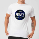 Primed Stamp T-Shirt - White