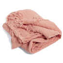HAY Crinkle Plaid Throw - Peach
