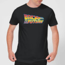Back To The Future Classic Logo T-Shirt - Black