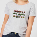 Back To The Future Destination Clock Women's T-Shirt - Grey