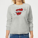 Just Married Women's Sweatshirt - Grey