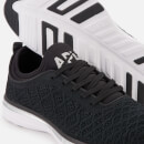 Athletic Propulsion Labs Men's TechLoom Phantom Trainers - Black/Metallic Silver