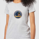 NASA JM Patch Damen T-Shirt - Grau