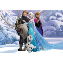 Disney Frozen Group Hug Wall Mural