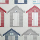 Contour White/Multi Beside the Seaside Bathroom/Kitchen Wallpaper