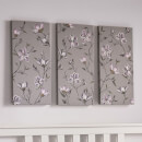 Art for the Home Magnolia Daydream Printed Canvas (Set of 3)