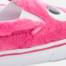 Vans Toddlers' Slip-On Friend Party Fur Trainers - Magenta/True White