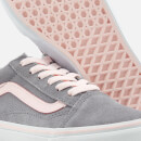 Vans Old Skool Suede Trainers - Alloy/Heavenly Pink/True White