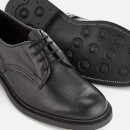 Tricker's Men's Woodstock Leather Derby Shoes - Black