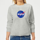 NASA Logo Insignia Women's Sweatshirt - Grey