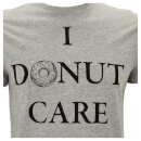Threadbare Men's Donut Care T-Shirt - Grey Marl