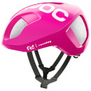 POC Team Education First - Drapac P/B Cannondale Ventral SPIN Helmet - Fluorescent Pink