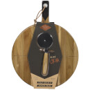 Gentlemen's Hardware Pizza Cutter and Serving Board