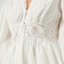97e9f3ea6bf Zimmermann Women s Iris Corset Waist Dress - Ivory - Free UK ...