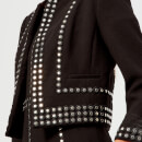 MICHAEL MICHAEL KORS Women's The Cropped Embellished Jacket - Black
