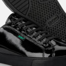 Kickers Youth Tovni Patent Trainers - Black