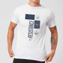 Star Wars The Resistance White T-Shirt - White