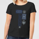 Star Wars The Resistance Black Women's T-Shirt - Black