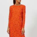 4a2bfa3470d Ganni Women s Jerome Lace Dress - Big Apple Red - Free UK Delivery ...
