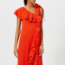 Ganni Women's Clark Dress - Big Apple Red