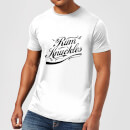T-Shirt Homme Rum Knuckles Signature - Blanc