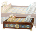 Harry Potter Quidditch Chess Set - Silver/Gold Plated
