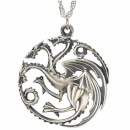 Game of Thrones House Targaryen Sterling Silver Pendant